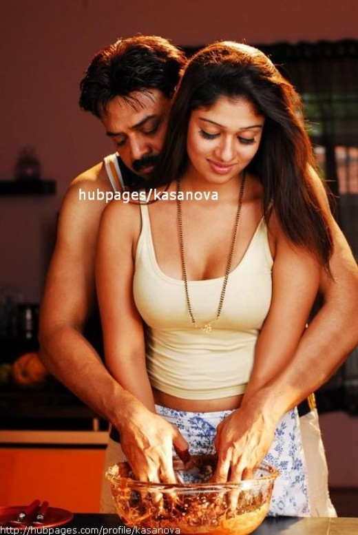 Nayanthara Kerala Born Sexy Actress in South Movie Pictures