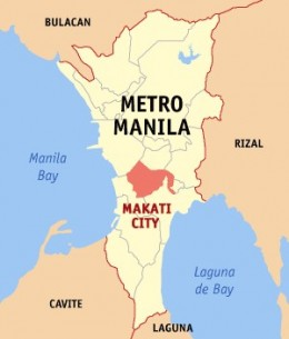 Street Map Of Makati City Philippines