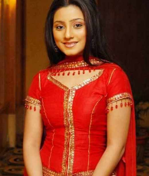 Looking hot in red dress Neha Marda