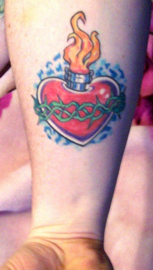 Little Heart Tattoo by
