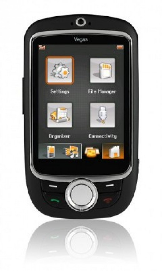 Vodafone V-X760 cheap and simple full touchscreen phone