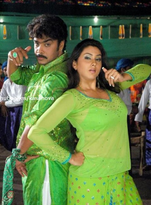 namitha with actor