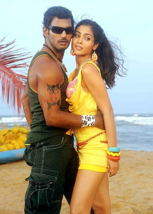 Vishal and Shriya in Thoranai