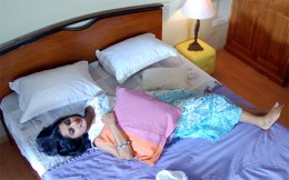 Meera Jasmine Hot Feet