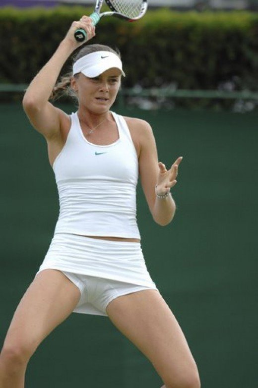 Sexy In Tennis Clothes 84