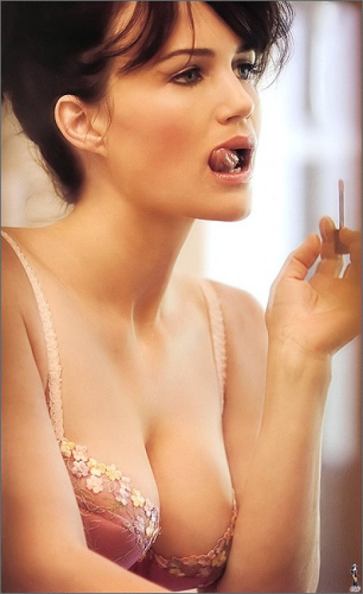 Sexiest Big Breast: Carla Gugino