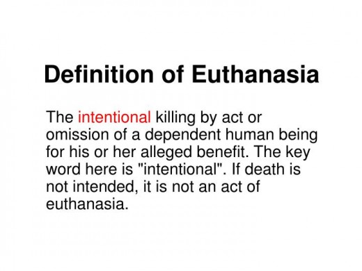 essay euthanasia should legal