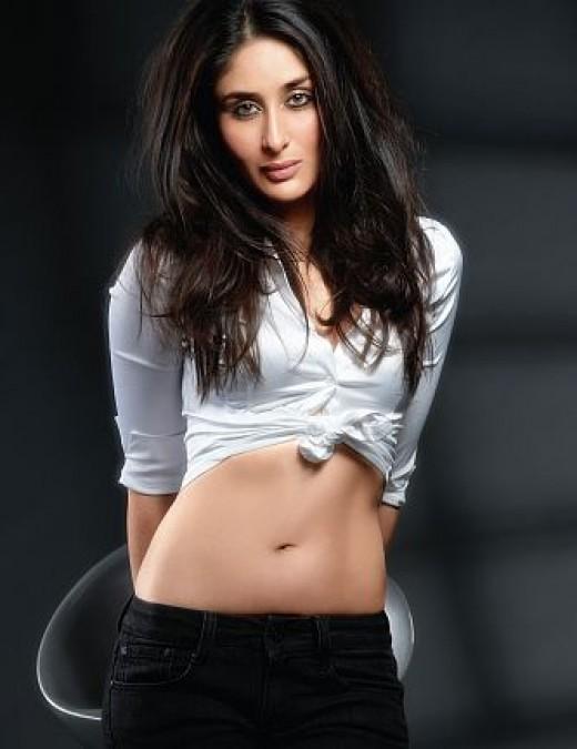Hot Desi Indian Sexy Actress Kareena Kapoor Sizzling Masala Photos