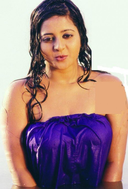 charmi in a wet pavada, underskirt wrapped bath in a tamil movie