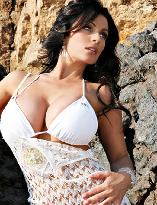 women sexy bikini Women Big Boobs with White Sexy Bikini