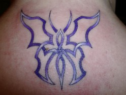 Butterfly celtic butterfly tattoos 4