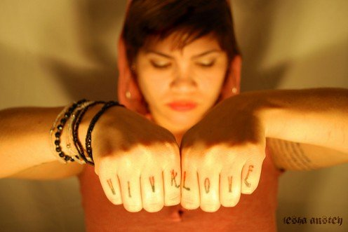 The Knuckle Tattoo Project.