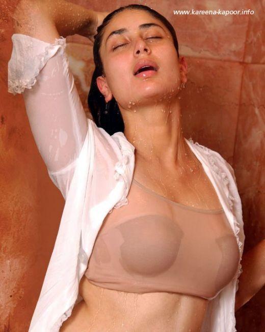 kareena kapoor hot bikini see though top picture