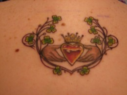 Irish Claddagh Tattoos