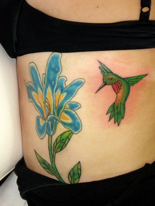 If you are thinking about a hummingbird tattoo then you will want to read on