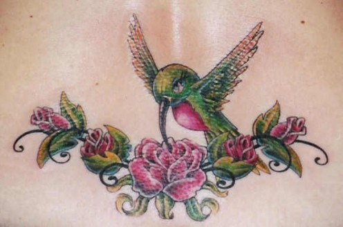 cute hummingbird tattoo design means