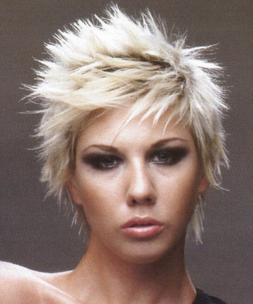 Punk Mohawk Hairstyles For Rock Girls