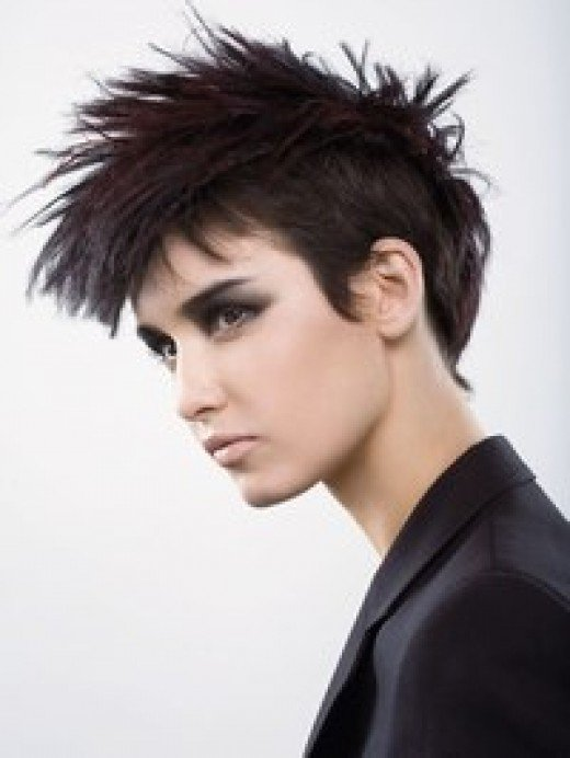 Short Gothic Hairstyles For Teenagers