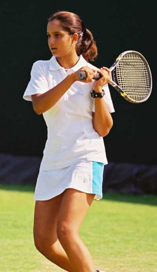 sania mirza looking so young in her teenage