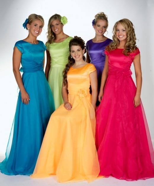 Modest Prom Dress 2