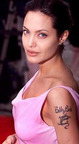 Angelina's Arm Tattoos women