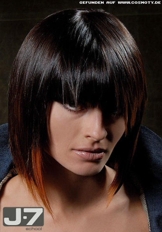 black bob hairstyles for 2010. hairstyles