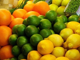 Citrus fruits are rich in Vitamin C