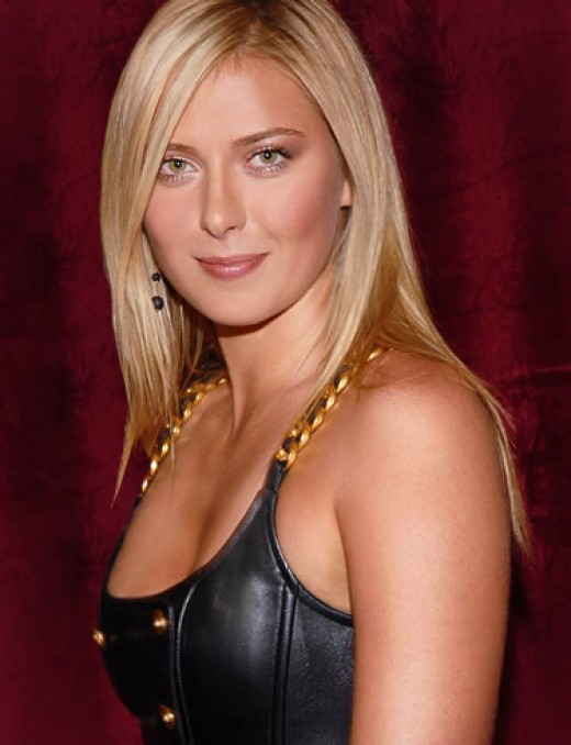 tennis star maria sharapova hot pics. Tennis Player Maria Sharapova