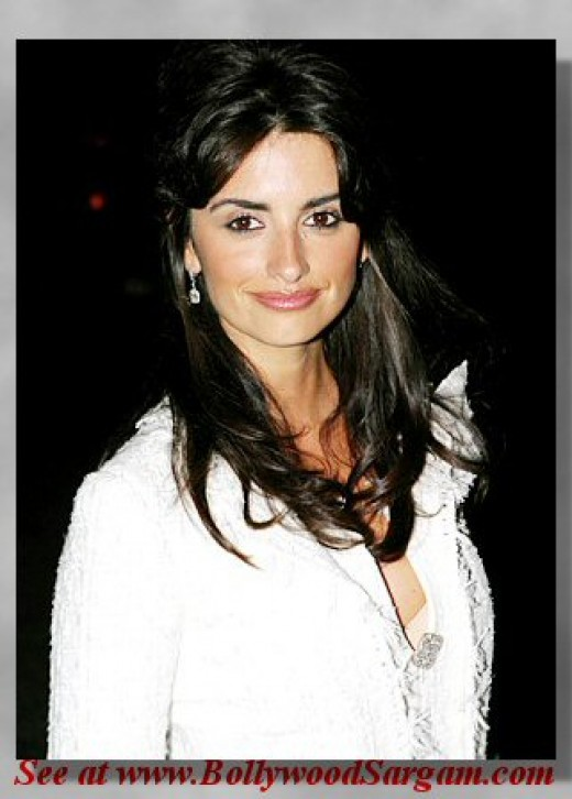 Hollywood Actress Sexy Penelope Cruz Hot Pics