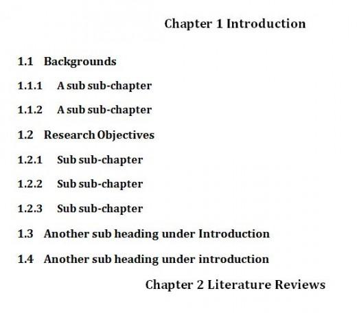 include dissertation appendices