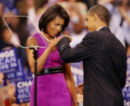 Michelle and Barack Obama From www.theage.com.au