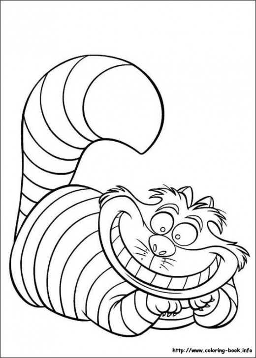 Disney Stationary Coloring Book Alice Wonderland | Kids Coloring Pages