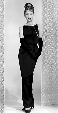 Audrey Hepburn in the Little Black Dress