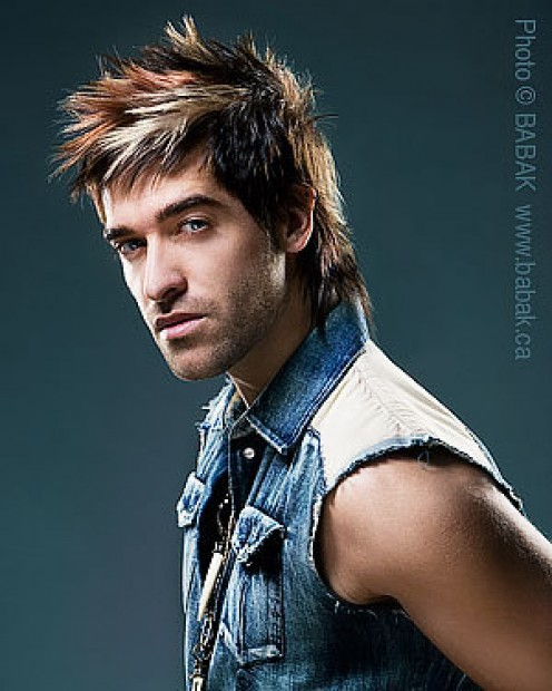 The Buzz cut is a very popular haircut for men who with round face shapes.