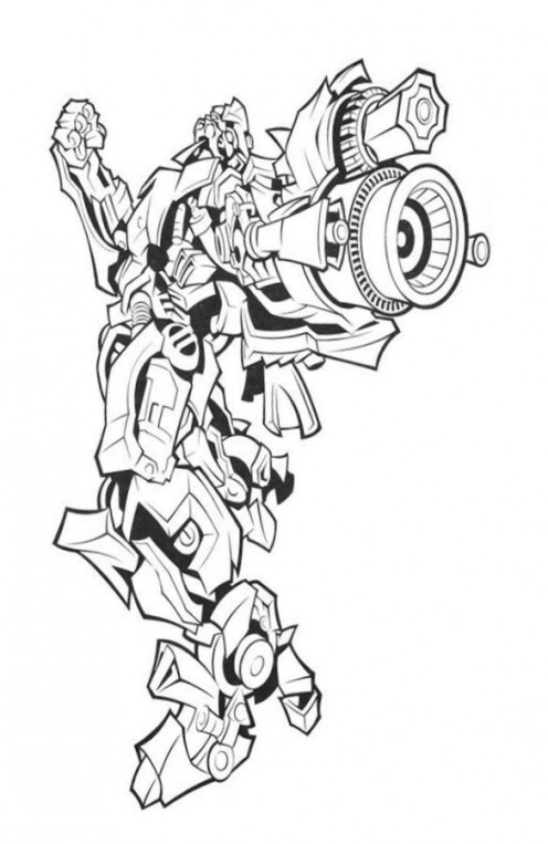 These are our some collections about Transformers printable coloring pages.