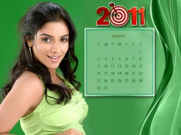 2011-January Asin calendar for you