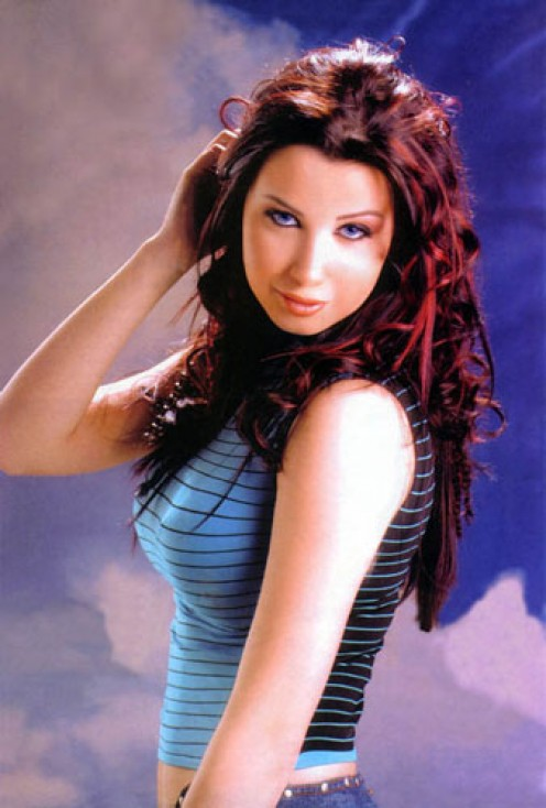 Arab Celebrity Sexy Girl NANCY AJRAM