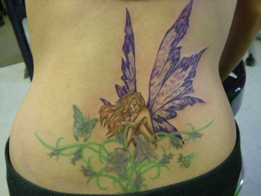 That is honestly what makes fairy tattoos such a draw for many women.