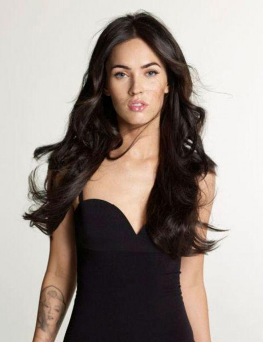 megan fox hairstyles. Megan Fox Hair Styles