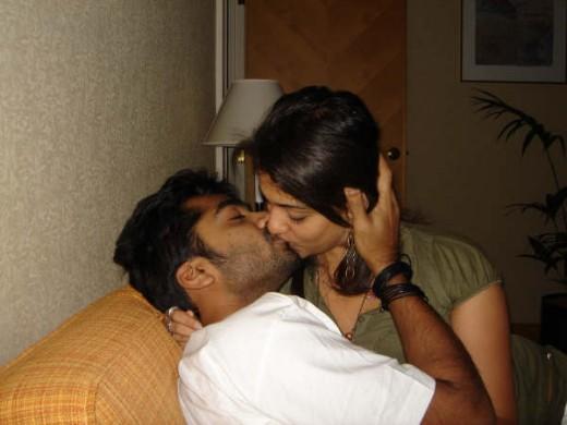 Simbu nayantara kiss