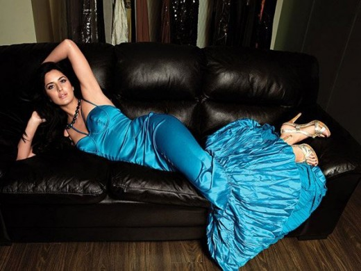 katrina lying on the couch
