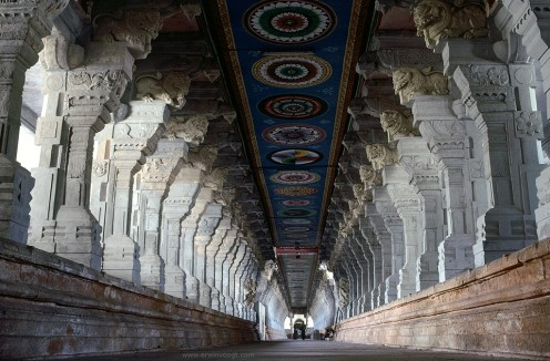 Ramanatha Swamy Temple interior