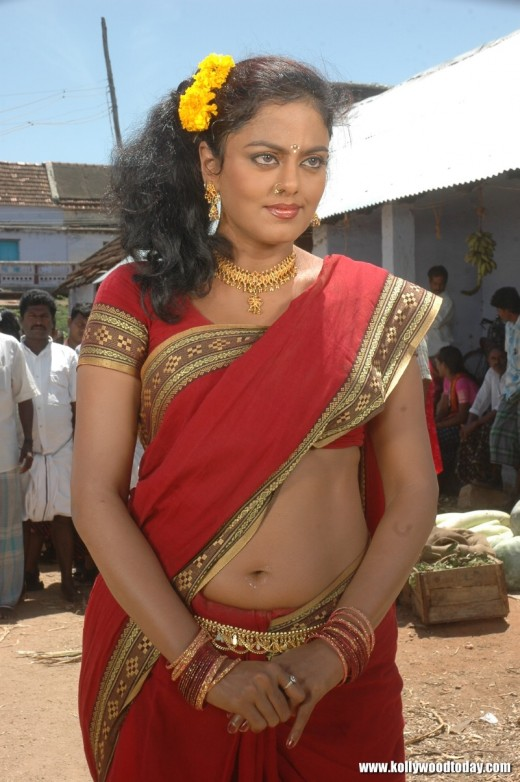 saree below deep navel 2011