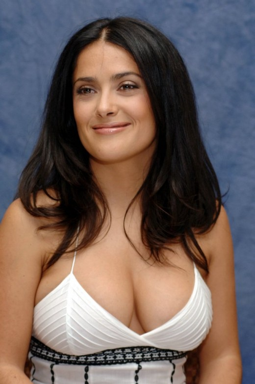 Images of Hottest Hollywood Actress Salma Hayek ~ Race By Tech