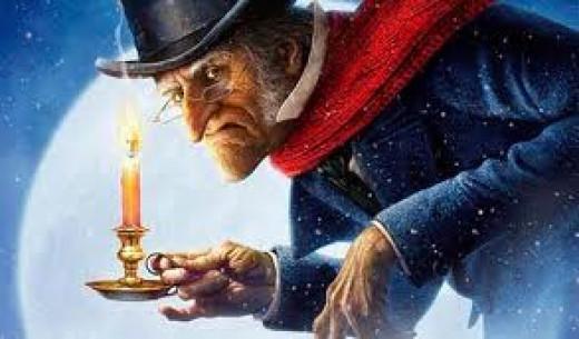 christmas carol essays scrooge