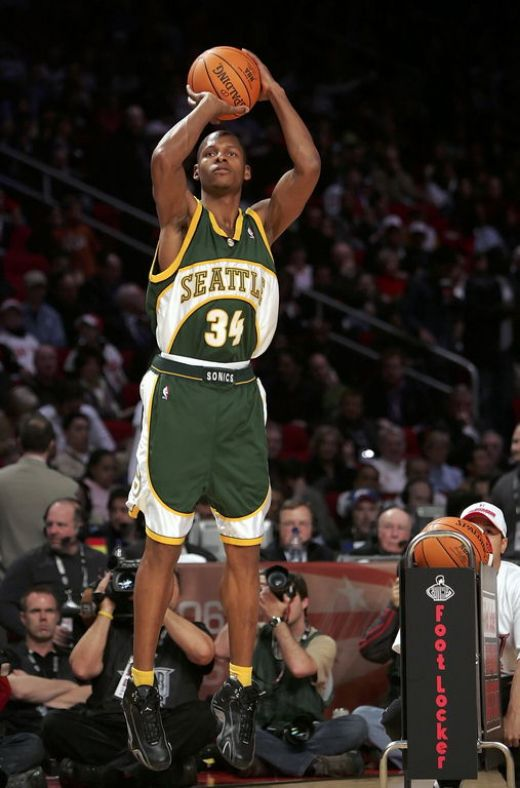 Walter Ray Allen (born July 20, 1975 in Merced, California), commonly referred to as Ray Allen, is an American professional basketball player for the NBA's Boston Celtics at the position of shooting guard. He has played professionally for the Milwauk
