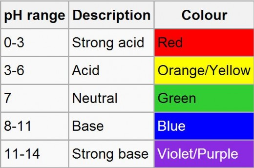 determining acids and bases using litmus paper