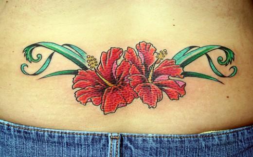 Amazing Hawaiian Tattoo Designs Especially Hawaiian Flower Tattoo Picture 1