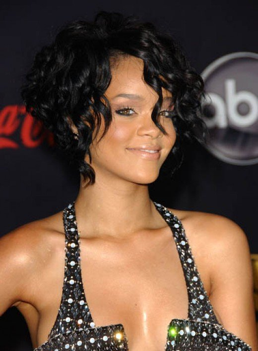 A Black Bob hairstyle with defined shape is also intensely flattering.