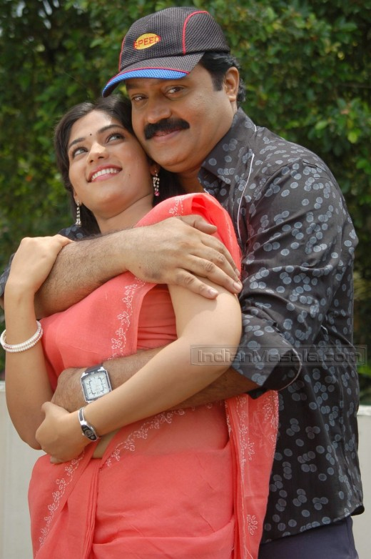 muktha with sureshgopi